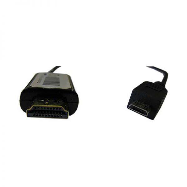MHL-кабель Micro USB type B male to HDMI male, питание Micro USB female ESPADA модель: EMHL-MCUSBM-HDM