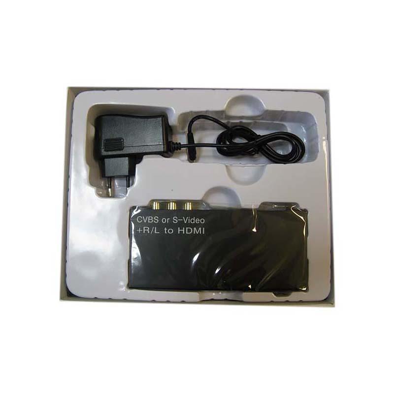 Конвертер Composite Video/S-Video+R/L Audio to HDMI Espada HCC0101