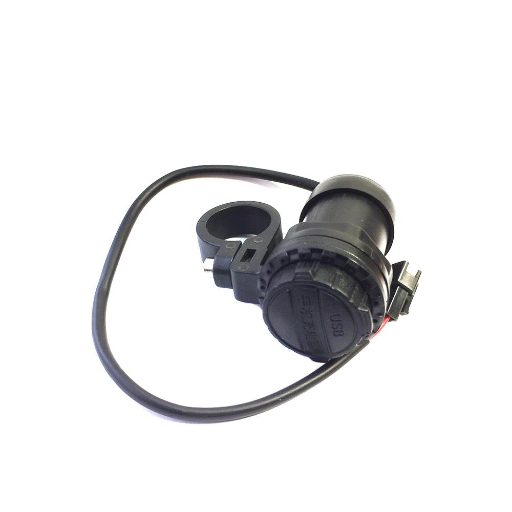 Зарядное устройство USB пыле-водонепроницаемое (waterproof) для мотоциклов