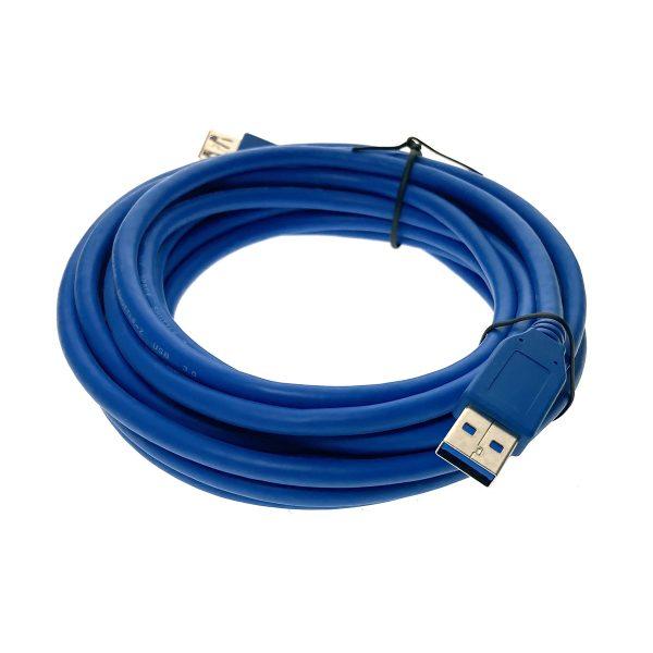 Кабель USB 3.0 A male - A female удлинитель 5 м Espada