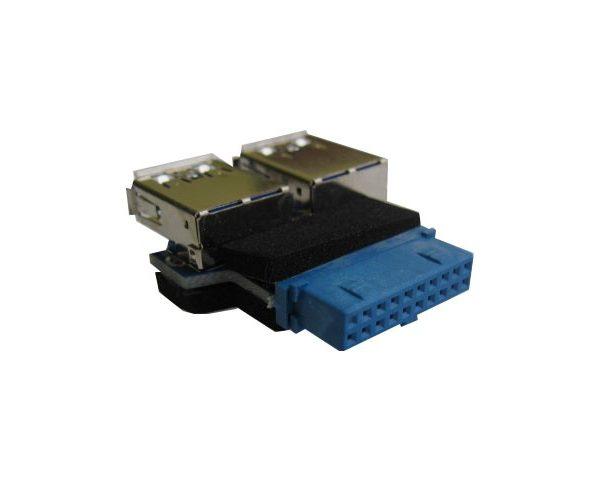 Переходник с мат. платы 20PIN-2 порта USB3.0