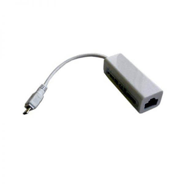 Адаптер micro USB 2.0 BM - RJ45 F