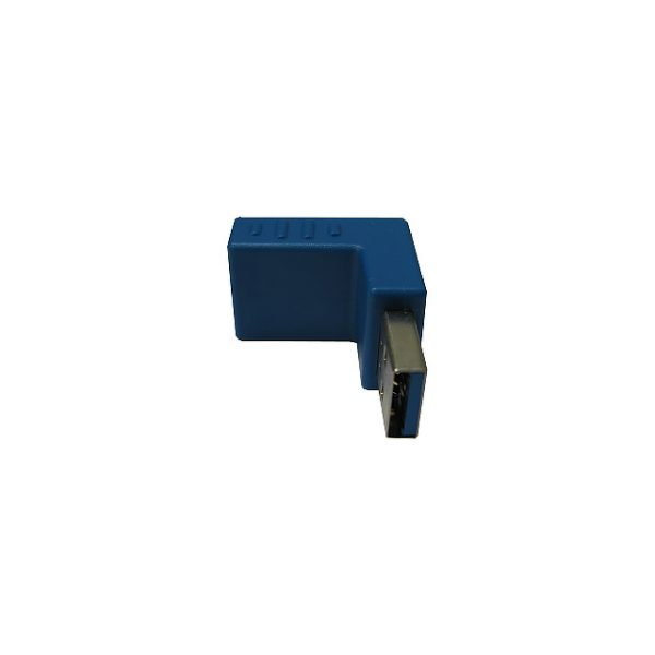 Переходник USB 3.0 Am-Af,L- образный, угол 90°