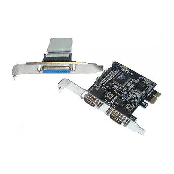 Контроллер PCI-E, 2S1P serial MCS9835CV, Espada