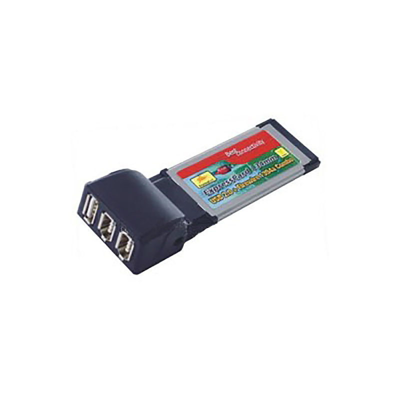 Контроллер Expresscard/34mm, 1394A + USB 2,0 Combo, FG-XXCMB1-1U2F, Espada