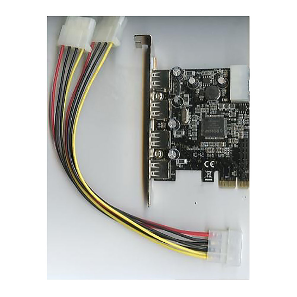PCI-Express , 4xUSB2.0(external) 1xUSB2.0(internal), Moschip MCS9990