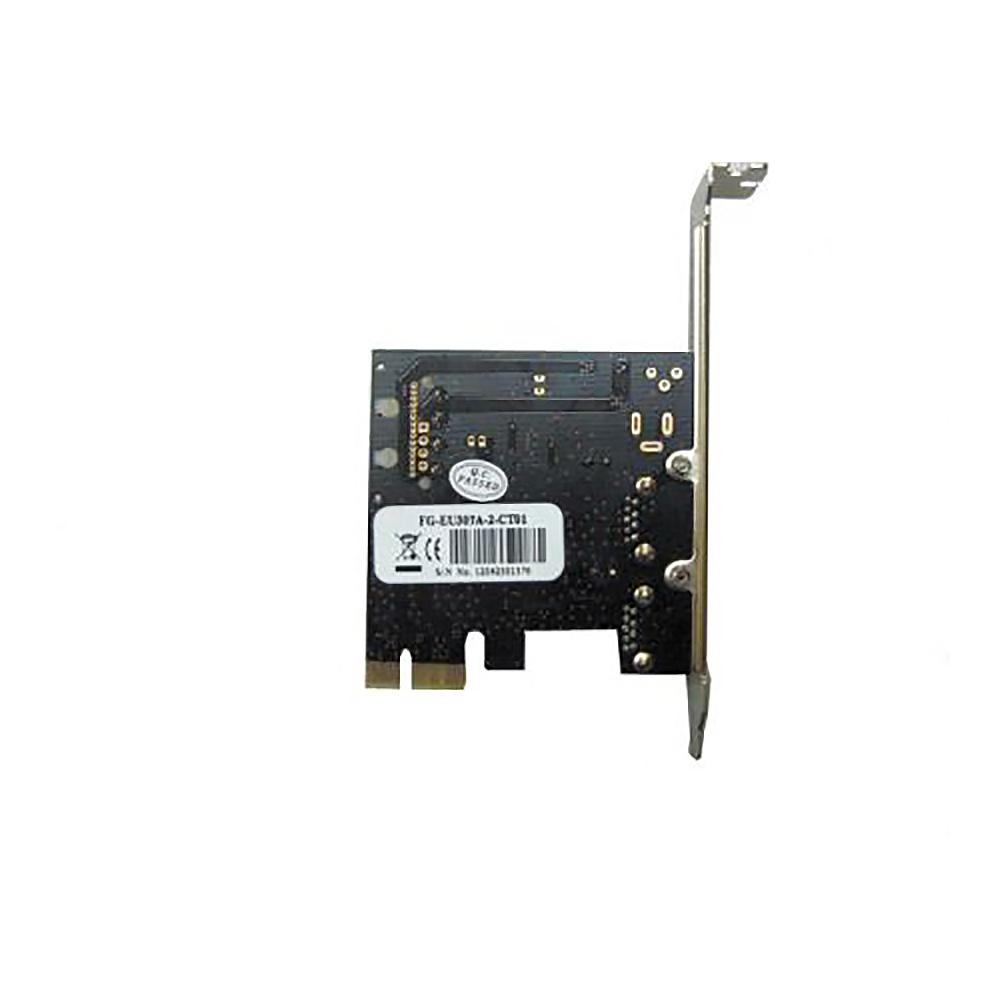 Контроллер PCI-E, USB3.0, 2port, FG-EU307A-2-CT01 Espada