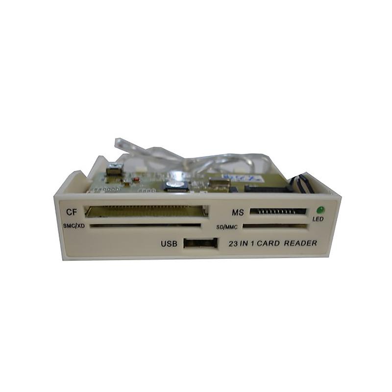 Картридер 23в1 USB 2.0, Внутренний, Espada