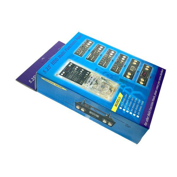 """Многофункциональная панель 5,25""""/Датчик температуры, панель индикации температуры, 4 контроллера скорости вентиляторов, TG4A"""