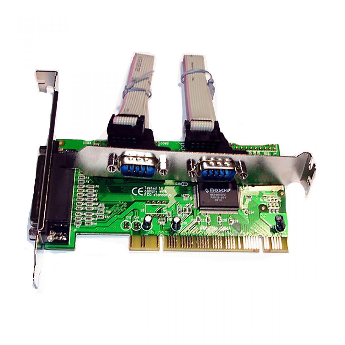 Контроллер PCI, 2xCOM 9m 1 LPT MCS9835CV