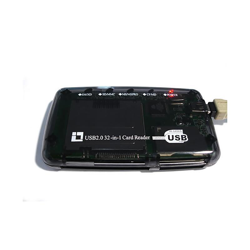 Картридер 32 in 1, mini USB 2.0, Espada