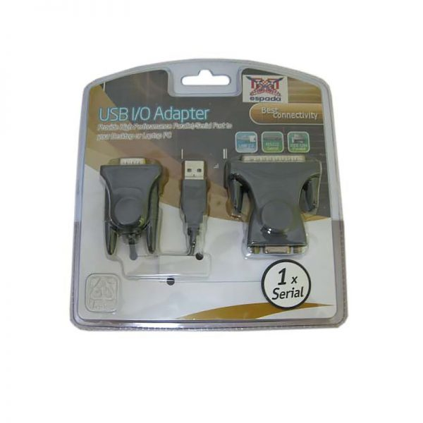 Кабель USB 2.0 to RS232/COM, Espada модель:FG-U1R232-PL2-1B1-CT21