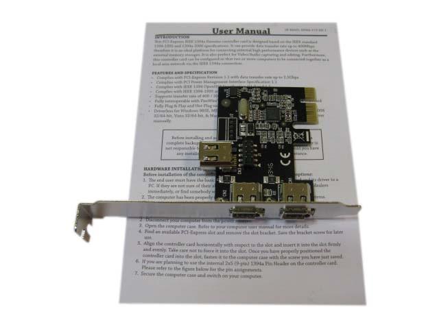 PCI-E, IEEE 2+1port, 2E1I, EFWA-V1T-02E1I