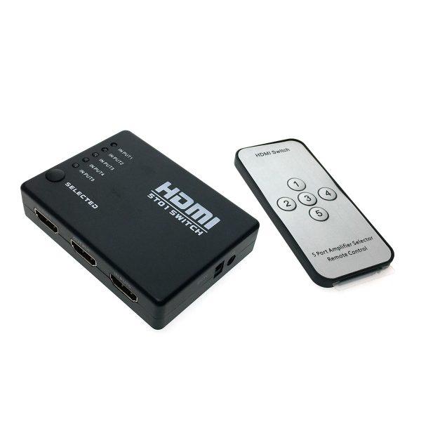 HDMI переключатель 5x1, Espada HSW0501S с пультом