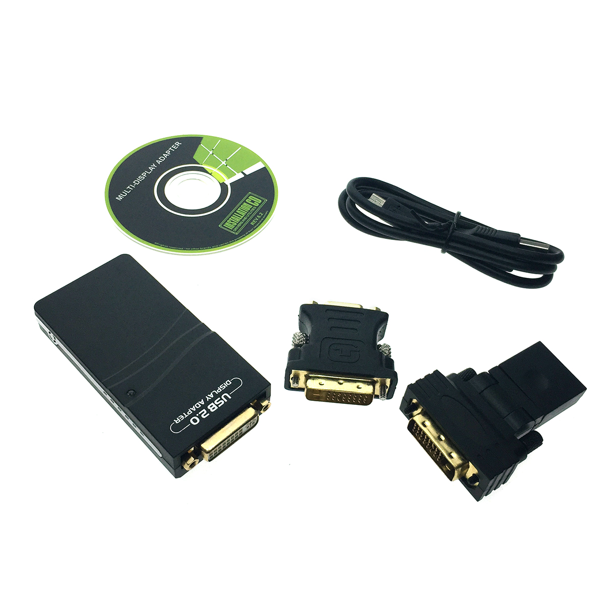 Видео конвертер USB 2.0 to VGA/HDMI/DVI, Full HD 1080p, H000USB Espada чипсет DisplayLink DL-165