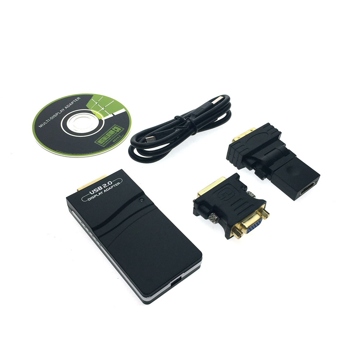 Видеоконвертер USB 2.0 to VGA/HDMI/DVI, Full HD 1080p, H000USB Espada чипсет DisplayLink DL-165