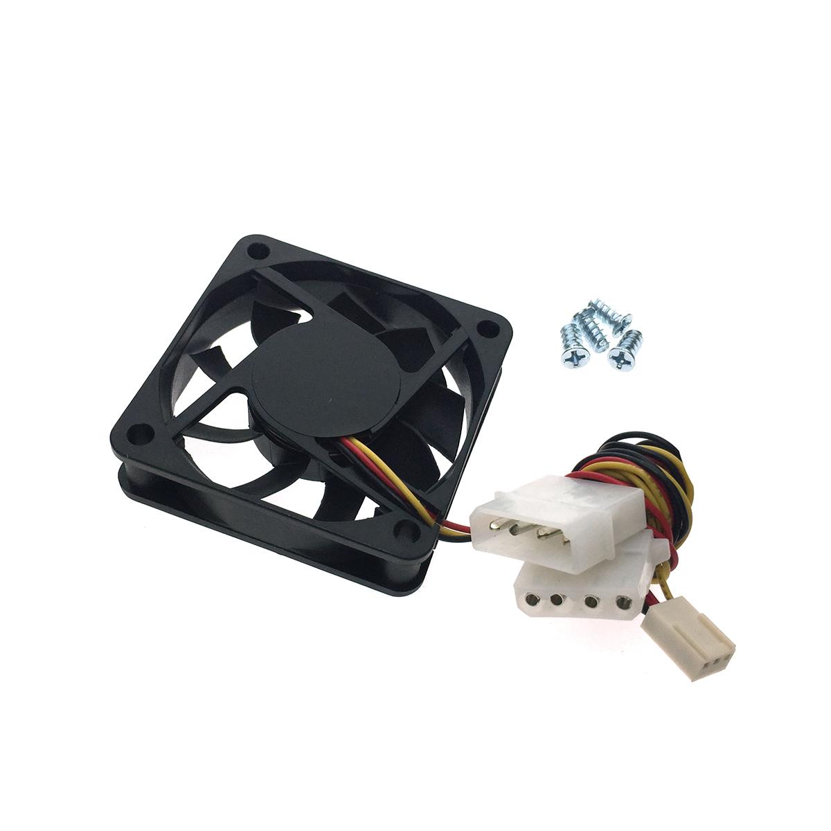 Вентилятор охлаждения 6015B, 60mm DC Fan, 3pin + 4pin