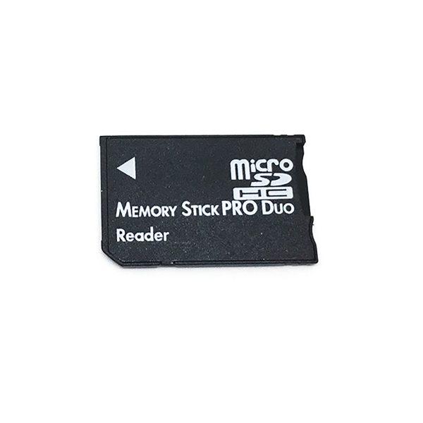Переходник - адаптер MicroSD в Memory Stick PRO Duo, модель E-microSD to MS Pro