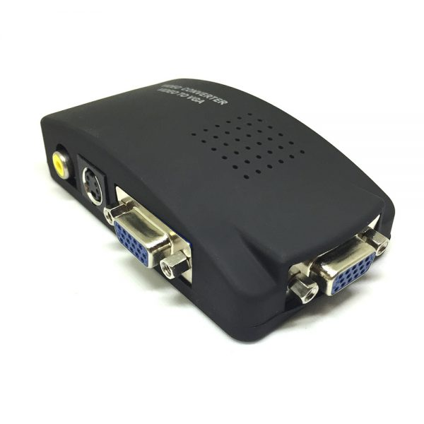 Конвертер VGA, S-video, Composite Video to VGA Espada EDH10