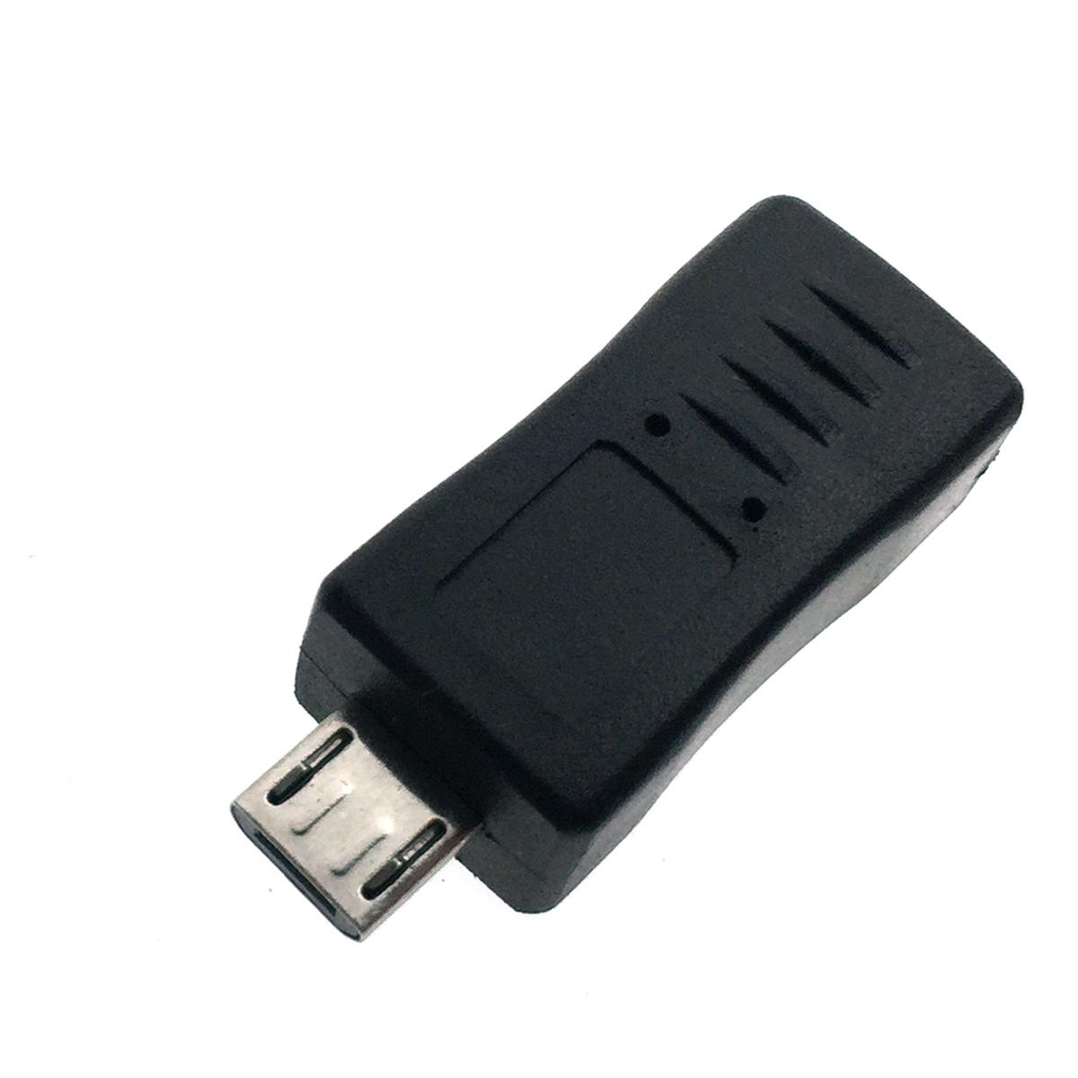 Переходник micro USB type B male to mini USB type B female Espada EUSB2mnBF-mcBM