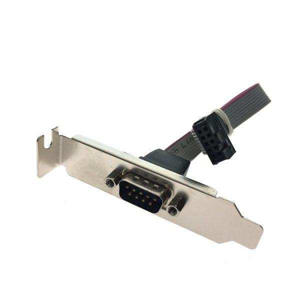 Монтажная планка с разъемом 1 порт RS232/COM port, ECOMp-BRCTLow Espada