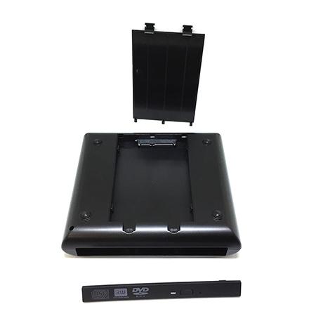 """Многофункциональный внешний контейнер для подключения жесткого диска для DVD/CD/BLURAY slim привода и диска 2,5"""""""