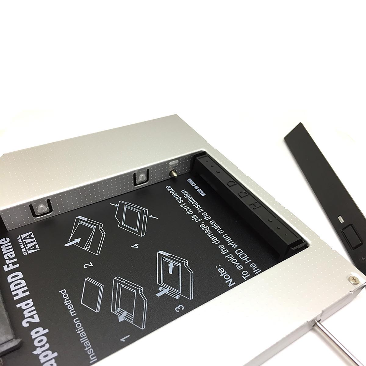"Адаптер оптибей Espada IS12 mIDE/SATA 12,7мм для подключения HDD/SSD 2,5"" к ноутбуку вместо DVD"