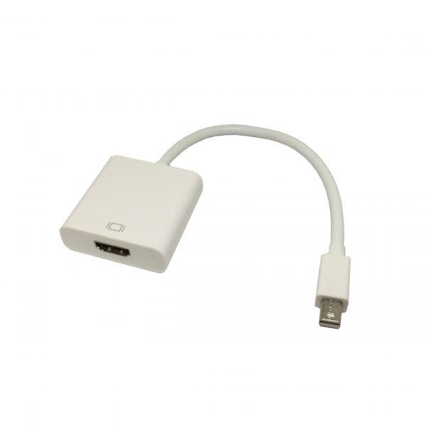 Конвертер Mini Display Port / miniDP Male to HDMI Female 20 cm