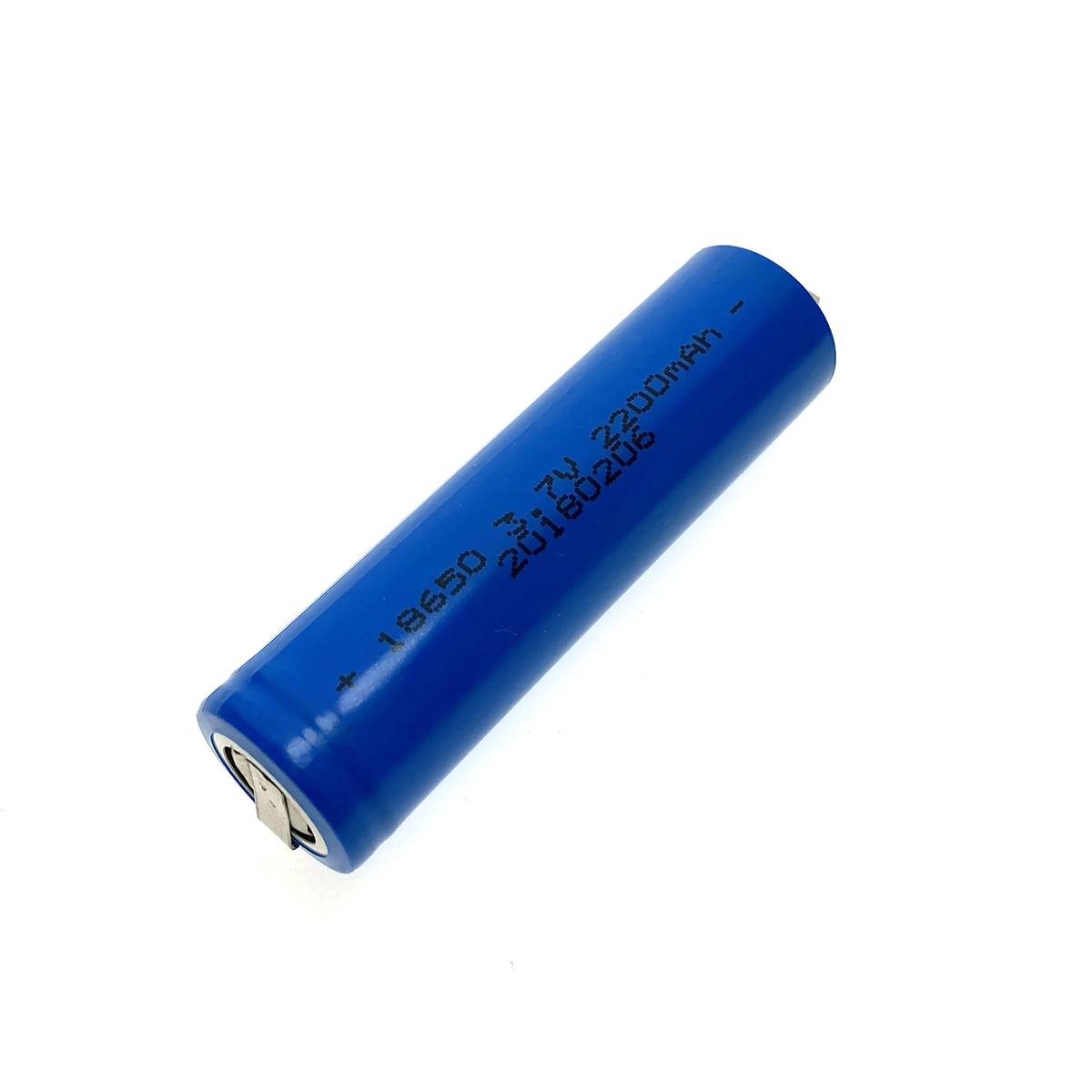 Аккумулятор Li-Ion 18650, Espada 18650C4-2200mAh, 3.7V, nickel tags, с выводами