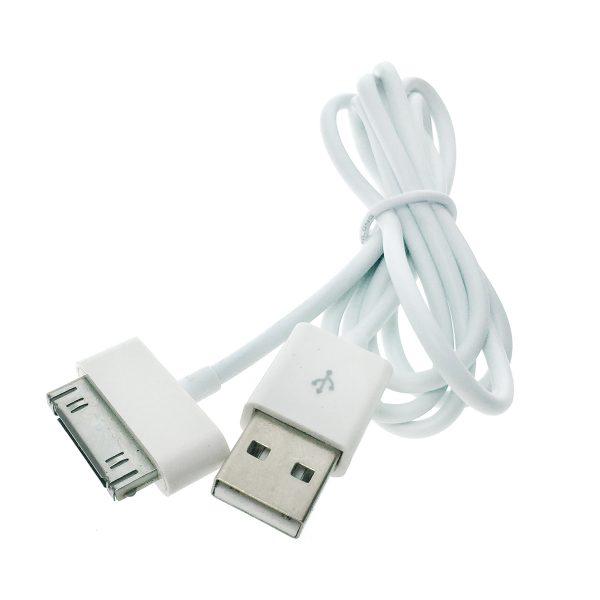 Кабель - адаптер iPad/iPhone iPhone 3, iPhone 4 30 pin to USB A male 1м, модель: EIPDIPHN/USB1m