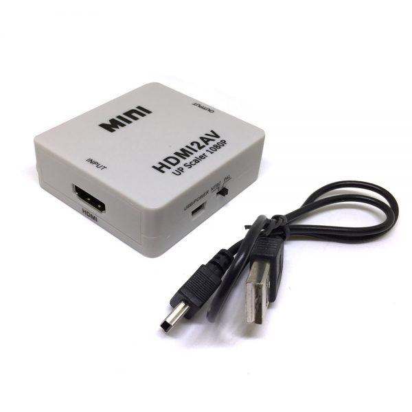 Конвертер HDMI to AV, Espada EDH14 / преобразователь цифрового сигнала в аналоговый