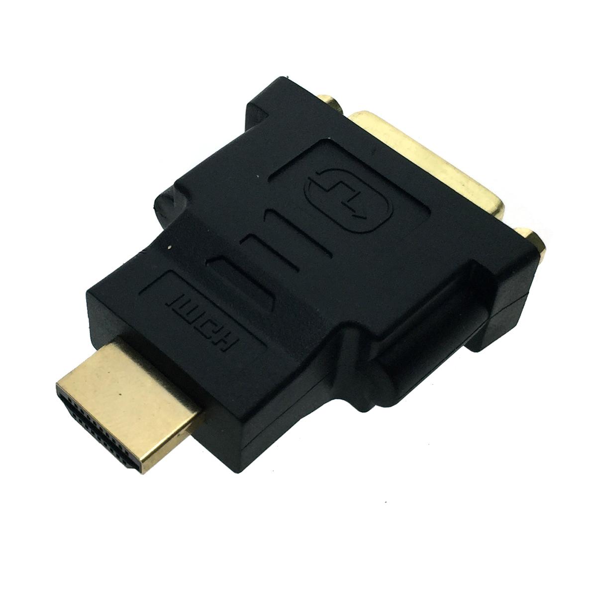 Переходник HDMI 19pin male to DVI-I 29pin female, Espada EHDMI19m-DVI29f