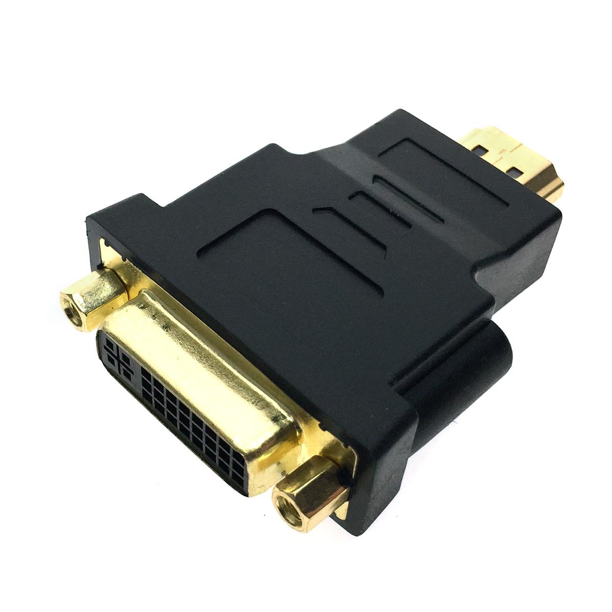 Переходник HDMI 19pin Male to DVI-I 29pin Female ESPADA модель: EHDMI19m-DVI29f