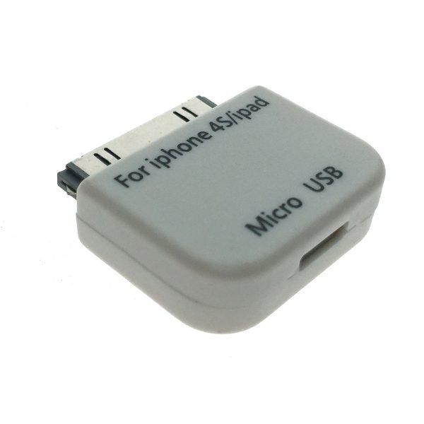 Переходник IPAD/IPHONE 30 pin to micro USB type B Female Espada EIPD-micUSBbF
