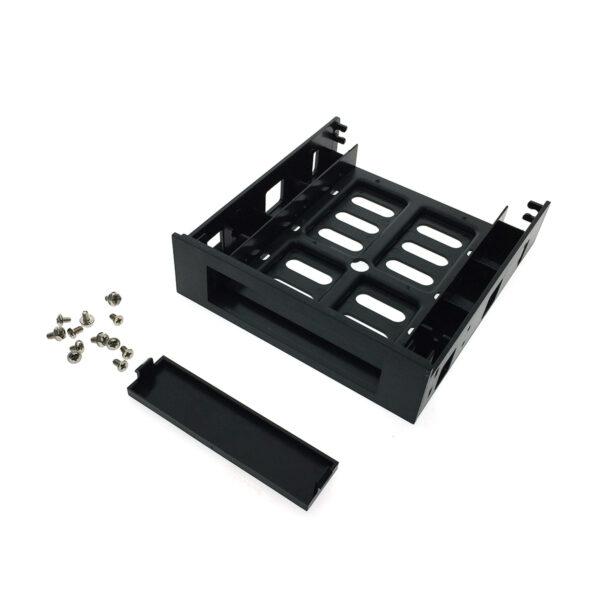 """Переходник - адаптер Espada EHD-BR355SS для жестких дисков 2,5"""" или 3,5"""" в 5,25"""""""