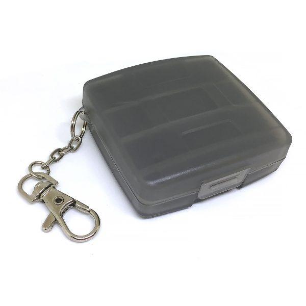 Футляр для хранения 4-х флеш карт памяти MicroSD и 4-х флеш карт XD, Espada EF-004