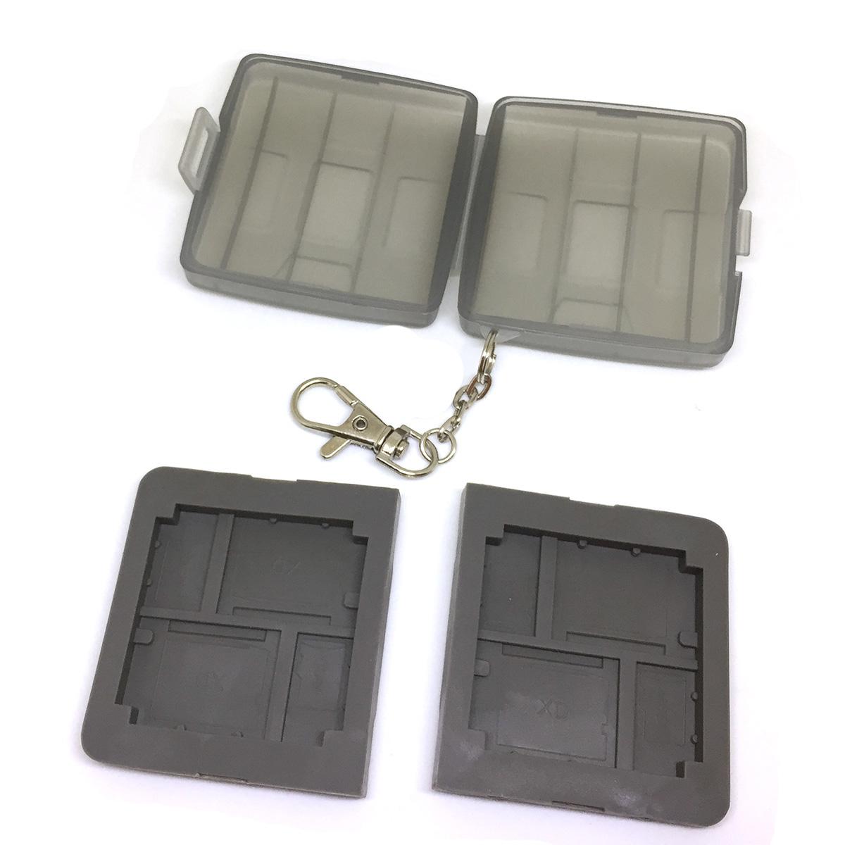Футляр для хранения карт памяти MicroSD и флеш карт XD, Espada EF-004