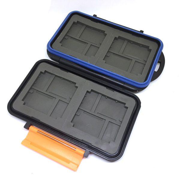 Футляр для хранения 8-ми флеш карт памяти MicroSD и 8-ми флеш карт XD, Espada EF-008