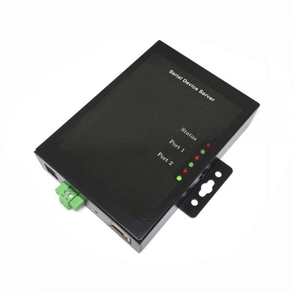Конвертер RS232 2порта to LAN / RJ-45 Espada MP8133R2