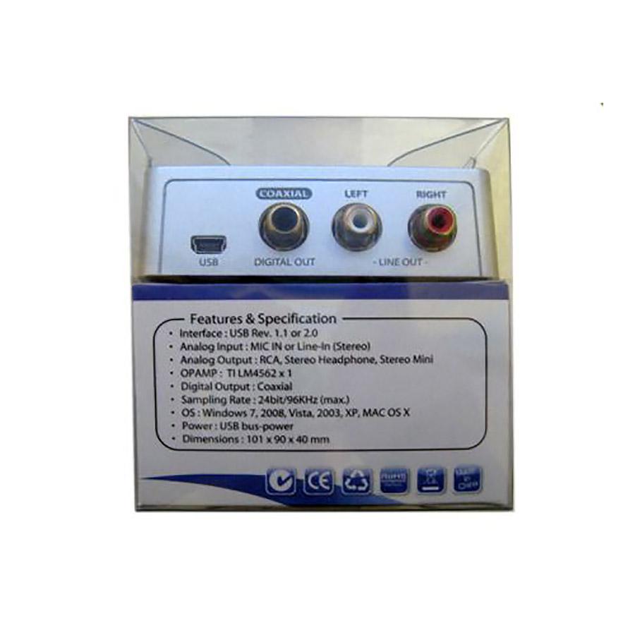 USB-звуковая карта FG-UAU04A-1AS-BC01 Espada