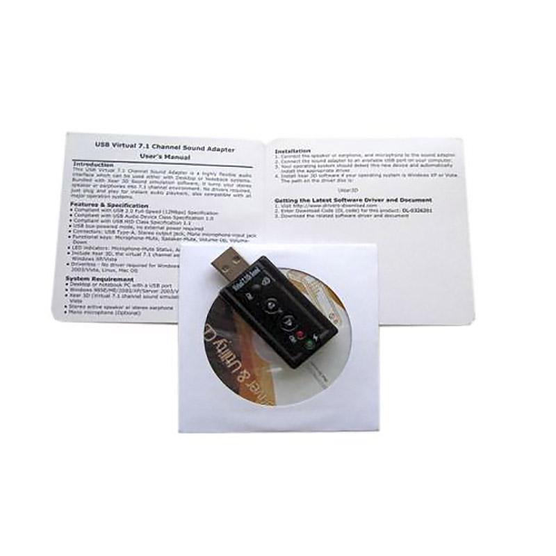 USB-аудиокарта FG-UAUDV2-C119-1A1-BC21