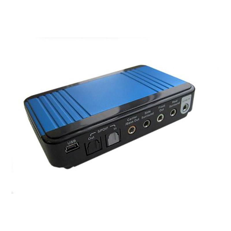 USB-аудиокарта FG-AS8C-C1-SPMB-1ALN-NA-BC21