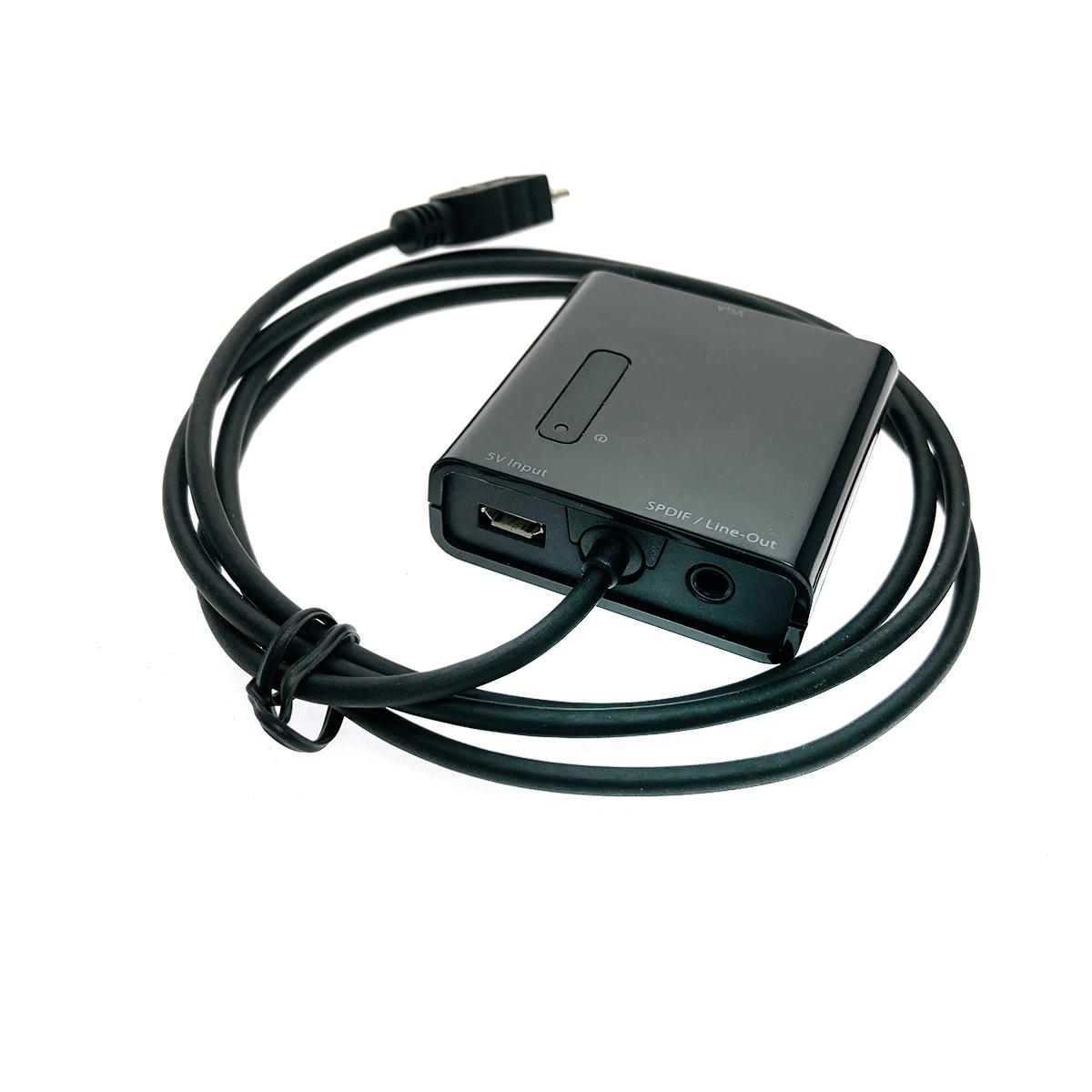 HL-кабель Micro USB B male to VGA female with Analog/Digital Audio (SPDIF)