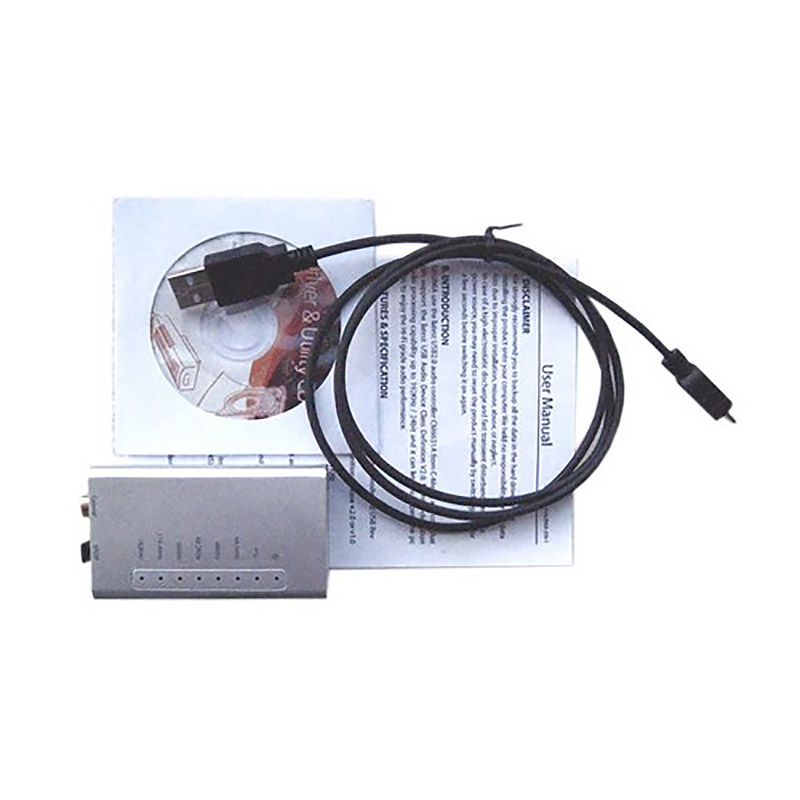 Звуковой преобразователь USB2.0 to S/PDIF, Coaxial & I2S(RJ45)