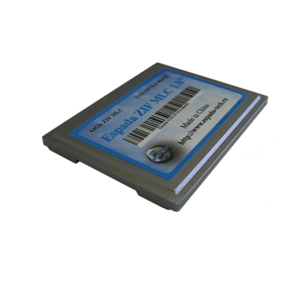 "SSD накопитель 1,8"" 64Gb ZIF MLC Espada ESD-ZF18.6-064MS"