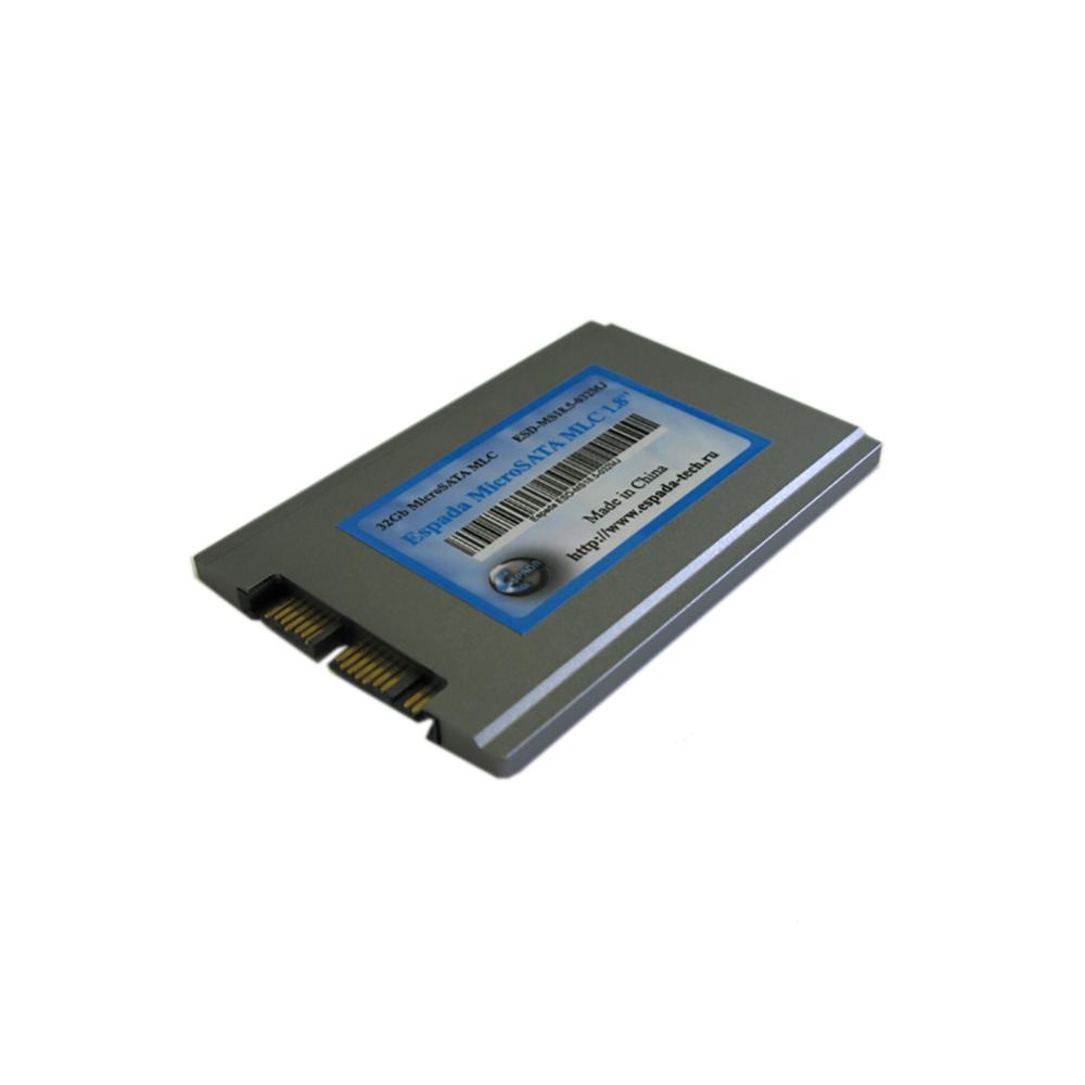 "SSD накопитель 1,8"" 32Gb Micro SATA (uSATA) MLC Espada ESD-MS18.6-032MJ"