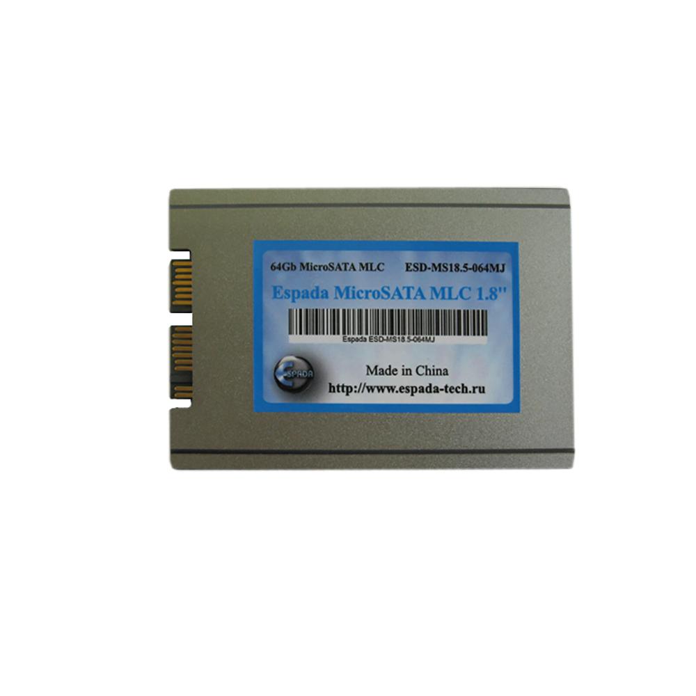 "SSD накопитель 1,8"" 64Gb Micro SATA (uSATA) MLC Espada ESD-MS18.6-064MJ"