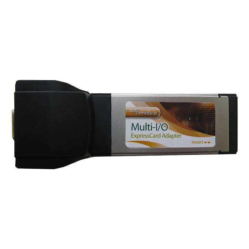 Контроллер последовательного интерфейса Expresscard/34mm, RS-232, 1 port, FG-XMT01A-1A-BC21