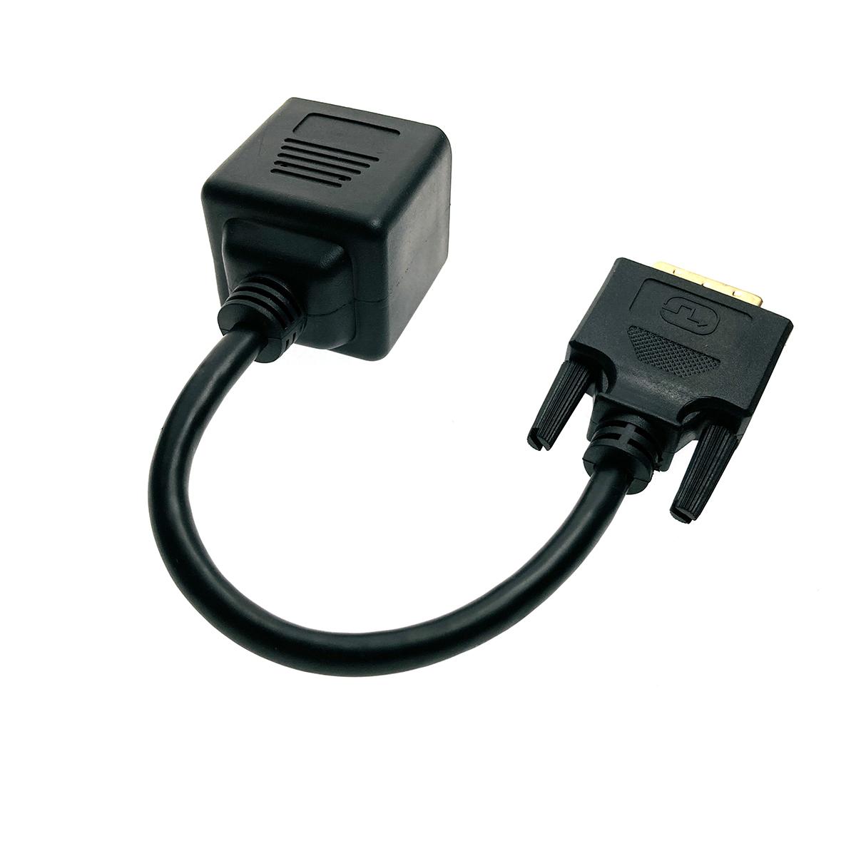 Разветвитель DVI-D 25 pin male to 2*HDMI 19 pin female, Espada EDVIM2xHDMIF25