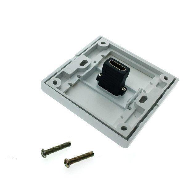 Настенная панель-переходник 1 port HDMI Espada EWPHdmi19F